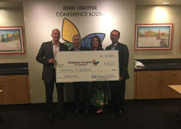 Thank you, Change 4 Children's for your generous donation to support the CHLA Innovation Studio!